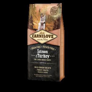 CARNILOVE PUPPY LARGE SAUMON 12KG