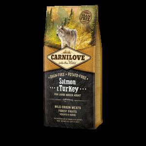 CARNILOVE ADULT LARGE SAUMON 12KG